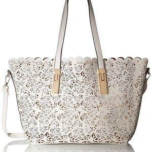 Aldo white purse